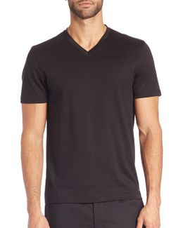 Sleek V-neck Tee