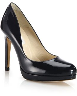 Sledge Patent Leather Pumps