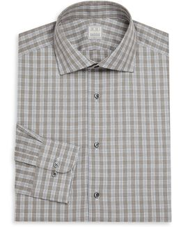 Regular-fit Lion Check Dress Shirt