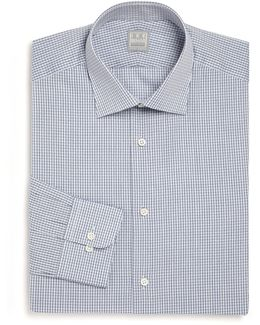 Diamond Print Dress Shirt