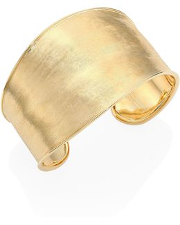 Lunaria 18k Yellow Gold Cuff