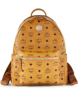 Stark Small Coated Canvas Monogram Backpack