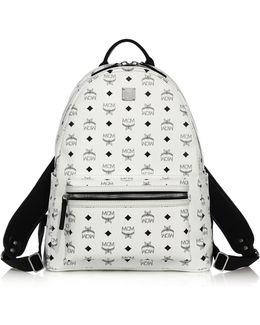 Stark Coated Canvas Monogram Backpack