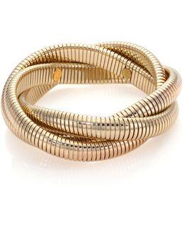 Small Snake Chain Bracelet/goldtone