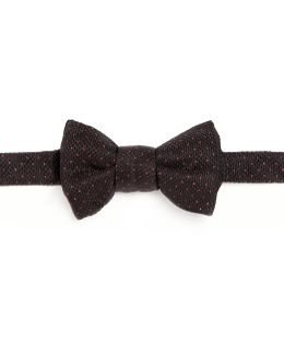 Small Pattern Silk Bow Tie
