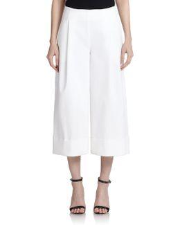Wide-leg Culottes