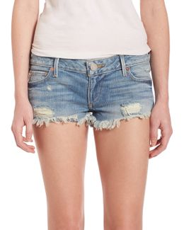 Joey Distressed Cutoffs