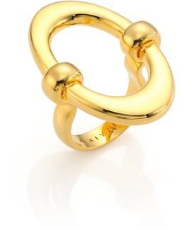 Orbit Oval Ring