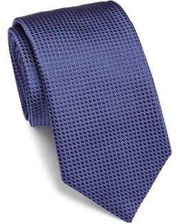 Silk Dotted Tie