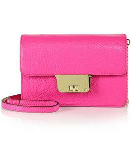 Astor Crossbody Leather Clutch