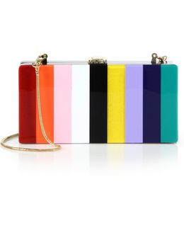 Constructed Rainbow Clutch