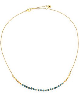 Biography Ocean Quartz Beaded Necklace