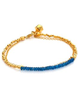 Biography Ocean Quartz Beaded Friendship Bracelet