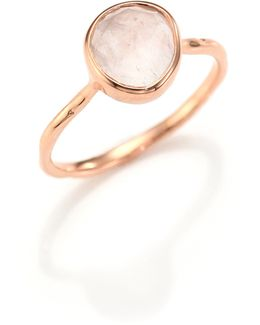 Rose Quartz Siren Ring