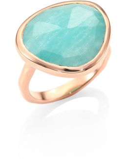 Amazonite Siren Ring