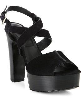 Gramercy Suede Platform Sandals