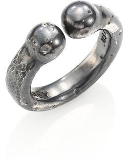 Sterling Silver Bull Ring
