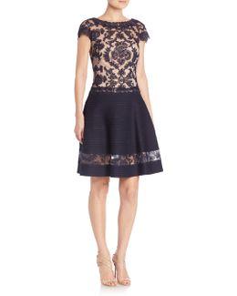 Illusion Lace Dress