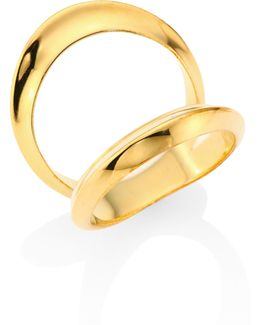 Signature Double Open Arch Ring