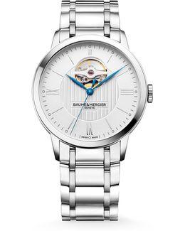 Classima 10275 Open Balance Stainless Steel Bracelet Watch