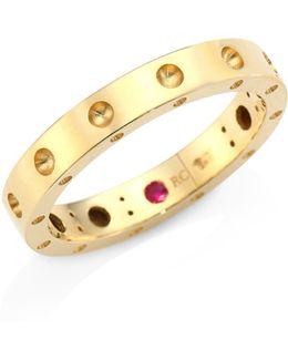 Pois Moi 18k Yellow Gold Band Ring