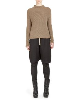 Crater Ribbed Knit Pullover