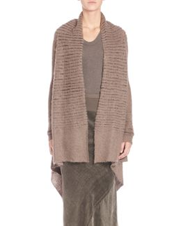 Wool Open-front Wrap