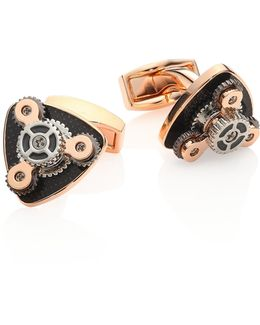 Gear Trio Cufflinks