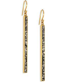 Jemma Miladi Raw Diamond Earrings