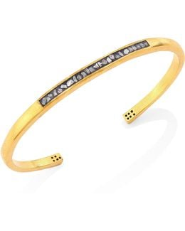 Banjara Hapur Sliced Raw Diamond Bangle