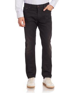 Blue Label Faded Five-pocket Jeans