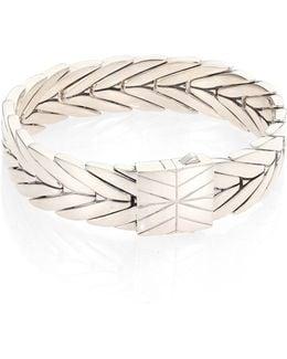 Modern Chain Sterling Silver Bracelet