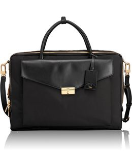 Erin Leather Trim Briefcase