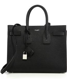 Classic Leather Small Sac De Jour Bag