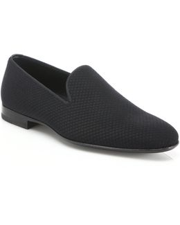 Saks Fifth Avenue By Magnanni Smoking Slippers