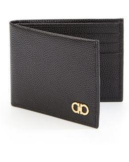 Ten Forty One Nero Leather Bi-fold Wallet