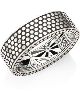 Dot Sterling Silver Cuff Bracelet