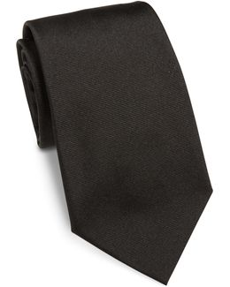 Pin Striped Silk Tie