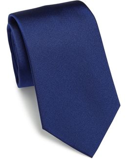 Pin Striped Silk Tie