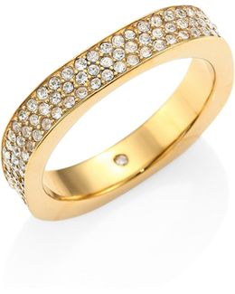 Brilliance Crystal Pave Ring