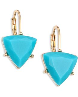 Going Coastal Faceted Drop Earrings