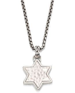 Classic Chain Collection Star Pendant Necklace