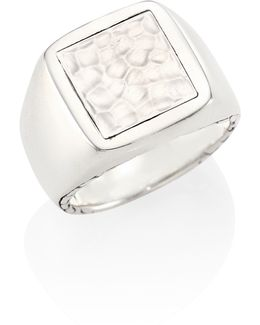 Classic Chain Collection Sterling Silver Ring