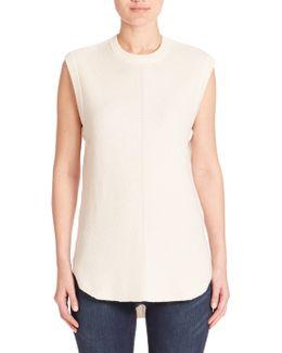 Sleeveless Cashmere Sweater