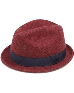 Lamb's Wool Fedora Hat