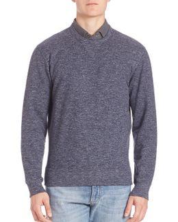 Heathered Felpa Sweatshirt