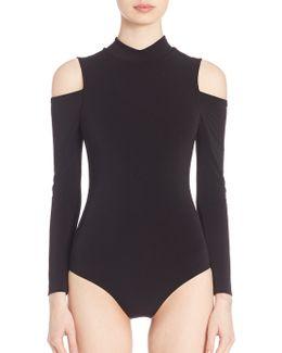 Suzi Cold-shoulder Bodysuit