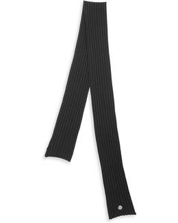Knit Virgin Wool Scarf