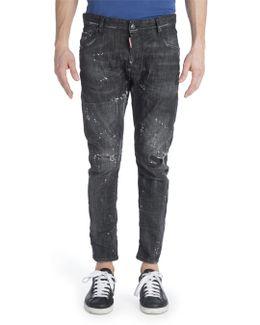 Distressed Slim Jeans