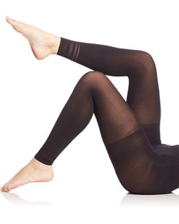 Floating Lines Footless Tights